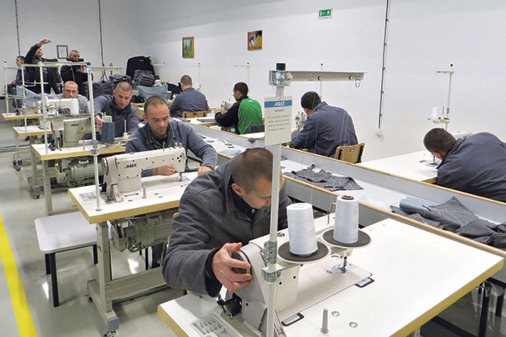PROIZVODE SVE: Niški zatvor radi kao najbolja fabrika