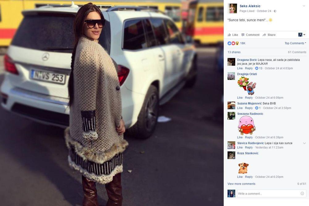 (FOTO) KONAČNO: Seka Aleksić pokazala kako izgleda maleni Jakov!