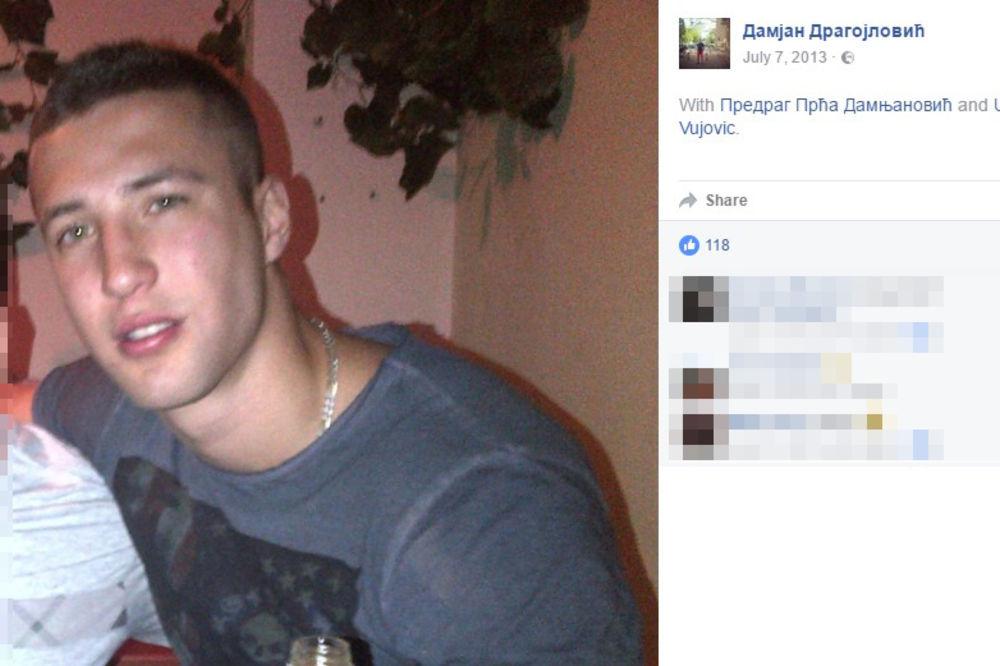 Žrtva napada Damjan Dragojlović (26)