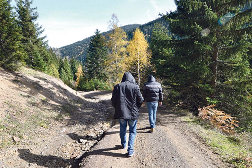 Trasa migranata... Put koji vodi iz Đerekara u Crnu Goru