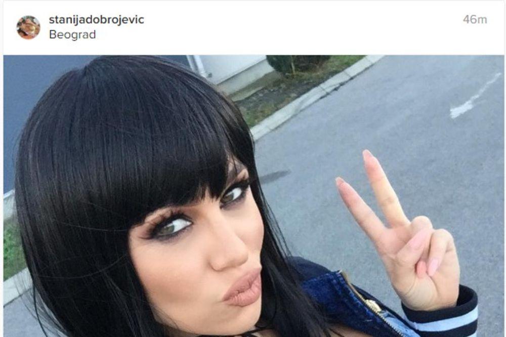 Stanija Dobrojević, Foto: Printskrin/Instagram