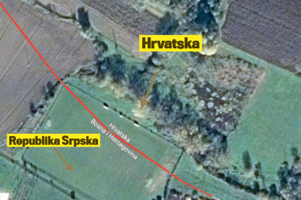 granica, teren, igralište, FK Partizan, Kostajnica, RS, Republika Srpska, Hrvats