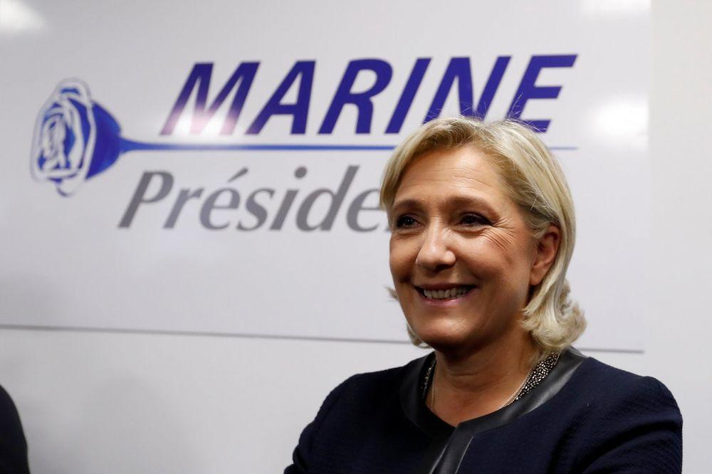 Mnogi već u drugom krugu vide Marin Le Pen, Foto: Reuters