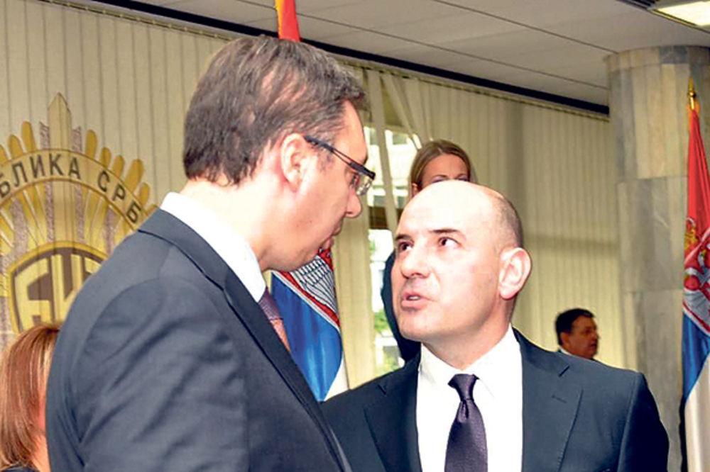 Iz BIA u Nemanjinu... Aleksandar Vučić i Aleksandar Đorđević