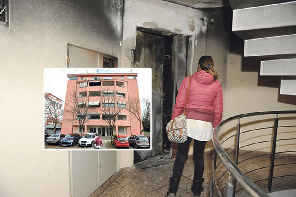 BAHATA STANARKA UGROZILA ŽIVOTE KOMŠIJA: Danina sestra zapalila stan