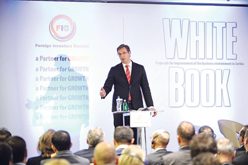 PREMIJER ZADOVOLJAN OCENOM STRANIH INVESTITORA: Srbija lider u privlačenju para