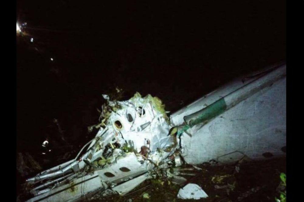 BRAZIL U CRNOM: Trodnevna žalost zbog pada aviona u Kolumbiji