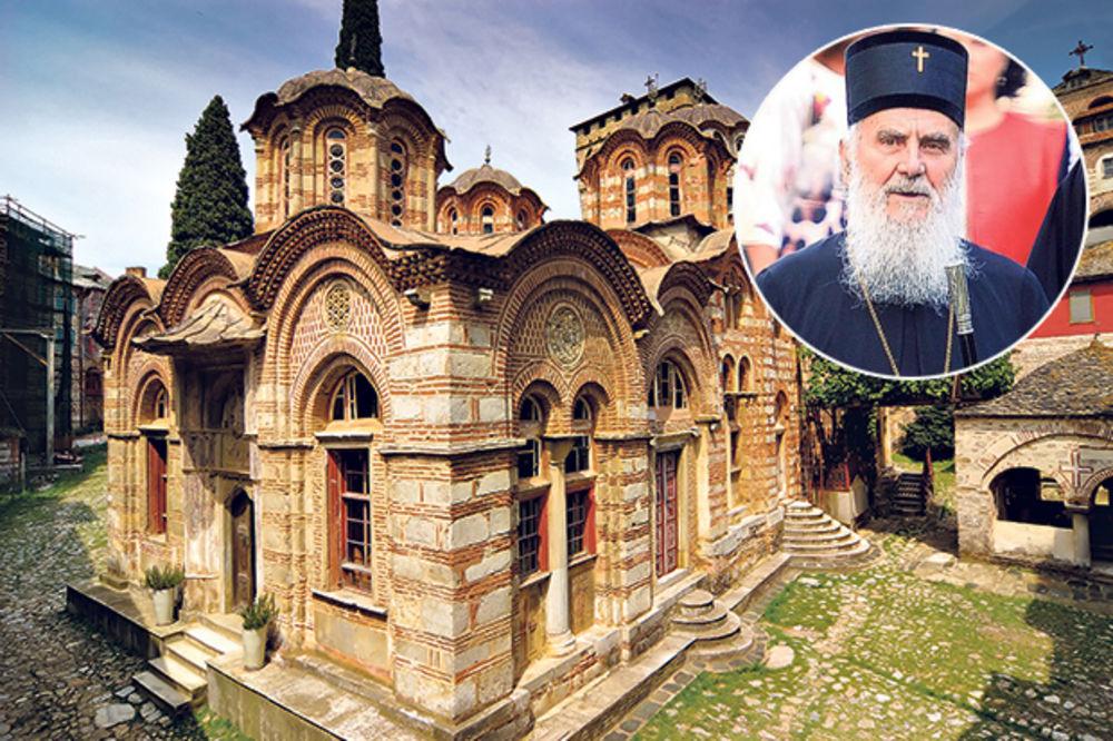 PATRIJARH IRINEJ IDE U HILANDAR: Poglavar SPC služi liturgiju na dan manastirske slave