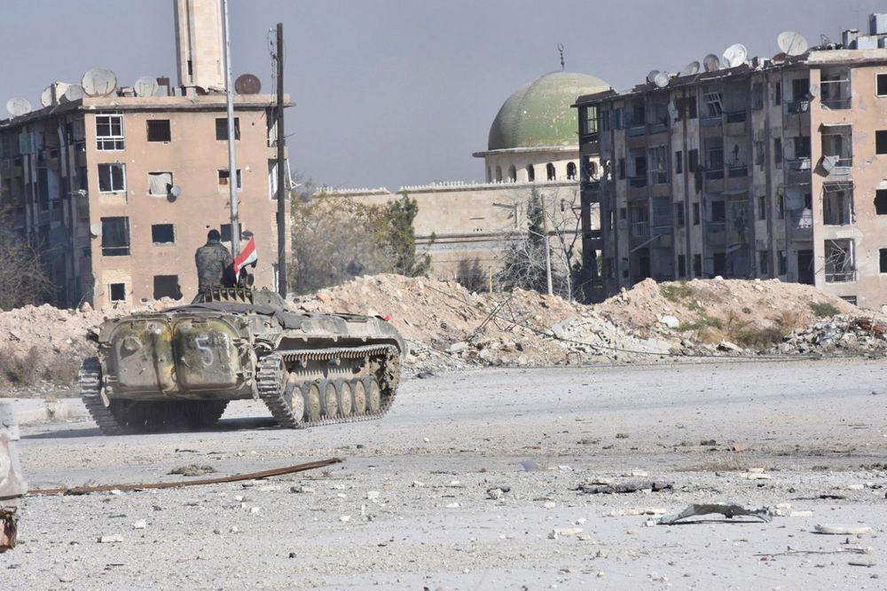 DO KONAČNE POBEDE: Asadova vojska u žestokoj ofanzivi zauzela veći deo istočnog Alepa