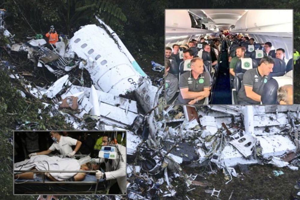 TRAGEDIJA U KOLUMBIJI: 75 mrtvih, 6 preživelih u padu aviona