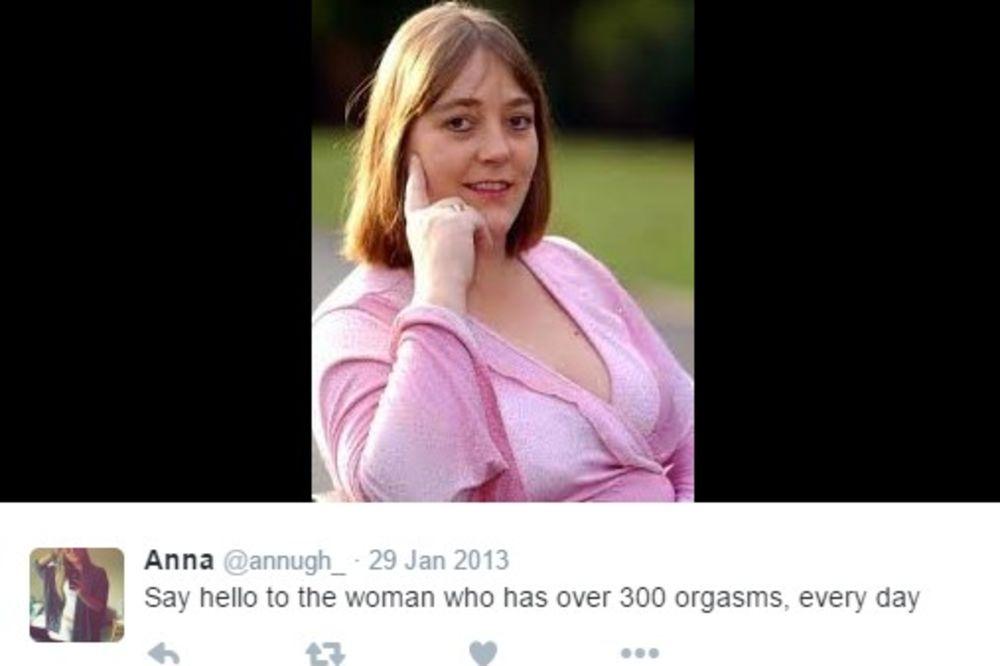 (FOTO) TREBA JOJ SEKS MAŠINA: Ova žena doživljava i do 300 orgazama DNEVNO! Morala je da da OTKAZ!