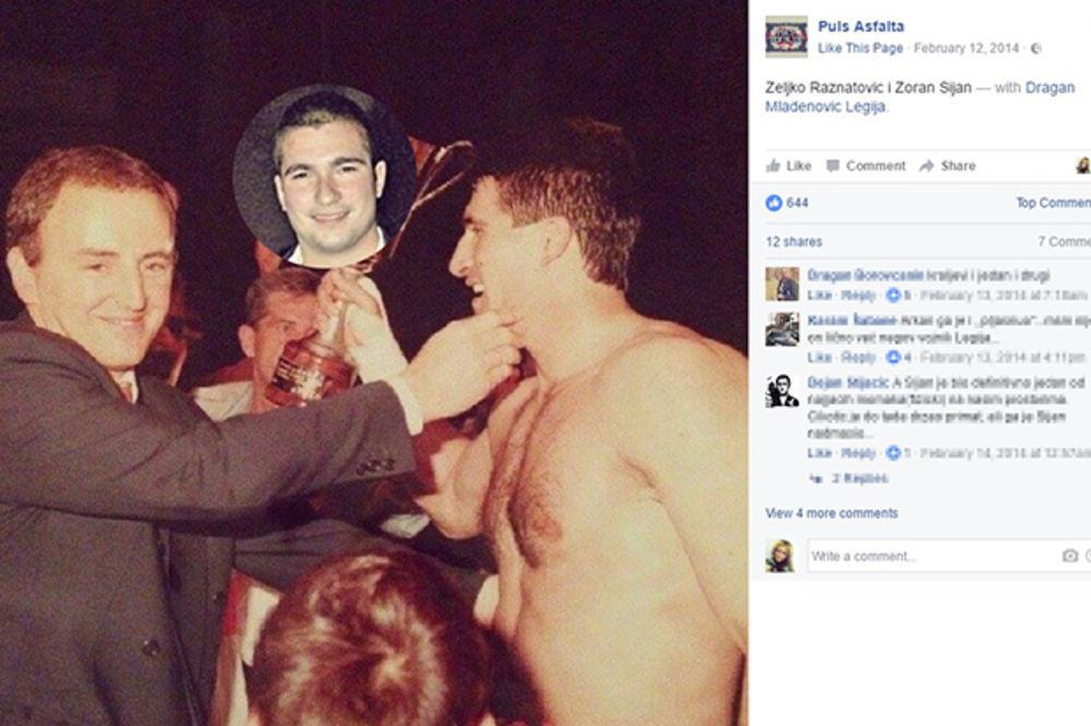 (FOTO) OVAKO JE IZGLEDAO OTAC PROBLEMATIČNOG ŠIJANA: Kik-bokser Zoran je ubijen pre 17 godina!