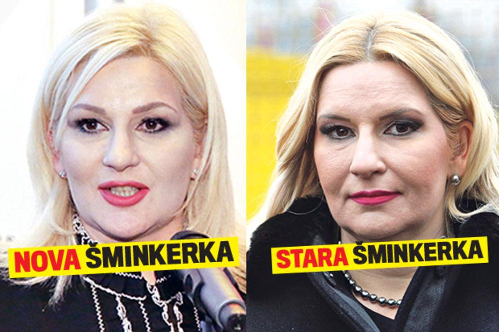 ZOKO, DŽABA SI KREČILA: Mihajlovićeva promenila šminkerku, a izgleda isto