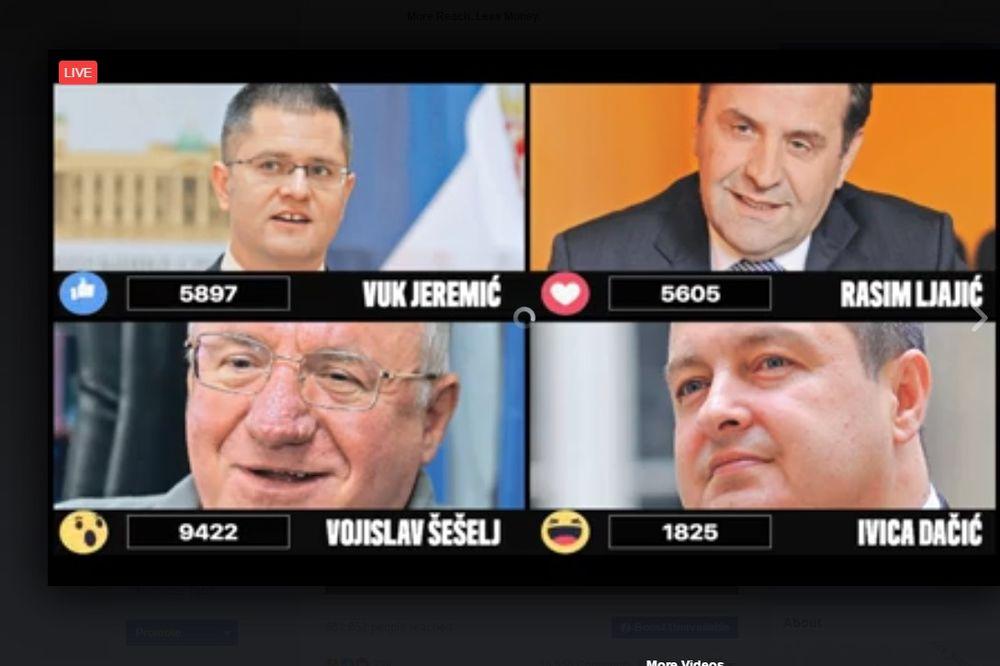 EPSKA BITKA NA KURIROVIM IZBORIMA: Šešelj ih razbio, Vuk dobio Rasima posle teških optužbi za krađu!