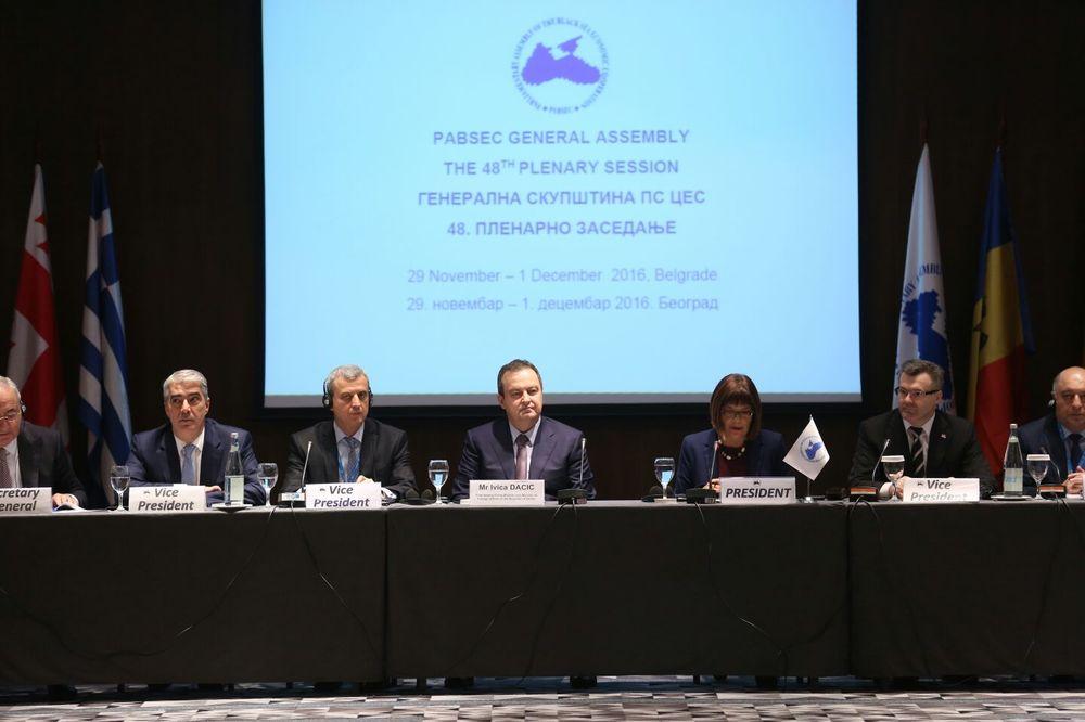 SVEČANA CEREMONIJA: Dačić na Parlamentarnoj skupštini Organizacije za crnomorsku ekonomsku saradnju