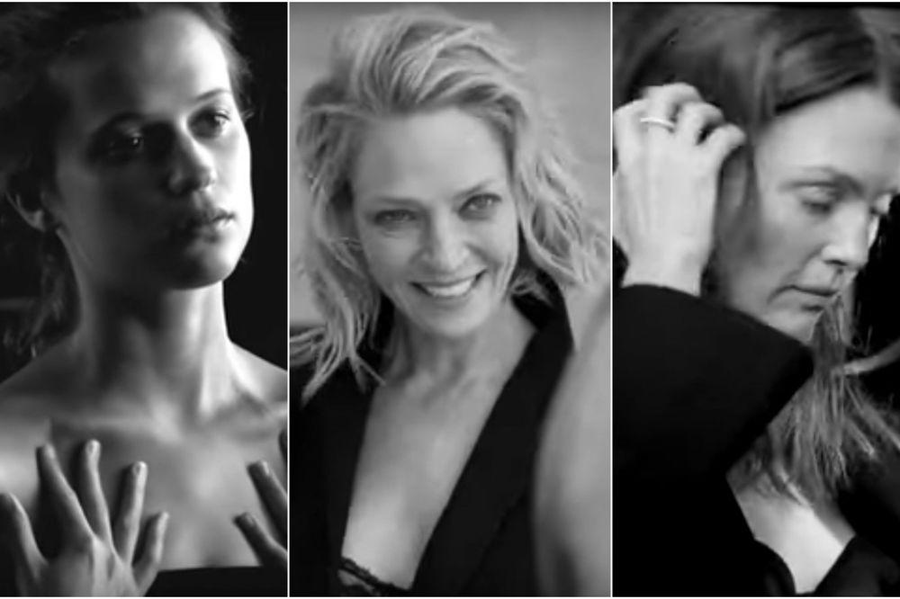 BEZ ŠMINKE I SA MOKROM KOSOM SU SAVRŠENE: 14 ogoljenjih glumica poziraju za kalendar! DRUGAČIJE!