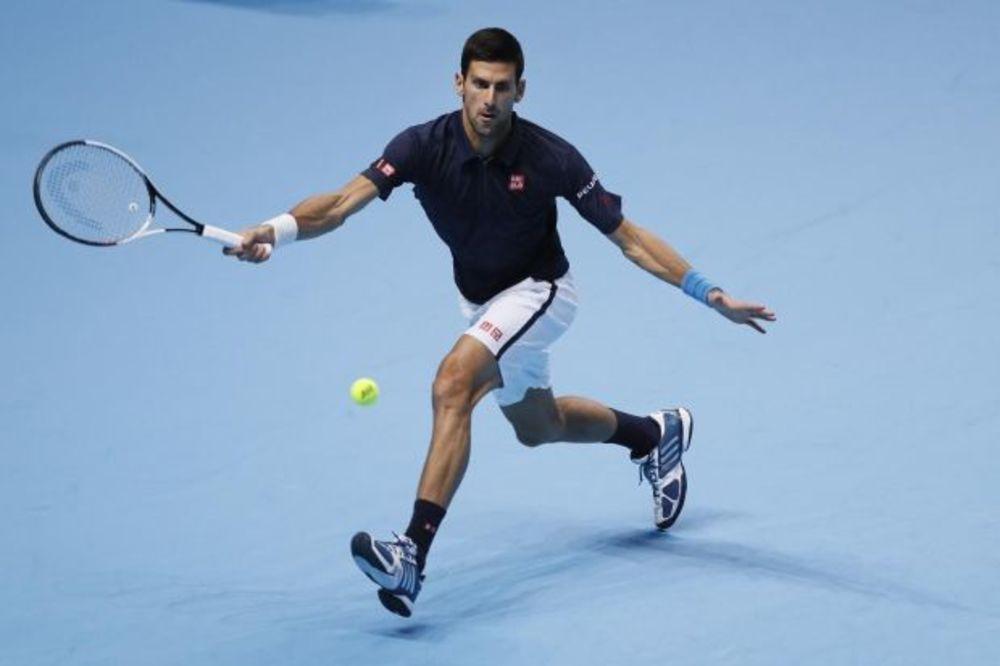 NOVAK KAO BOLT: Đoković je najbrži teniser na svetu!