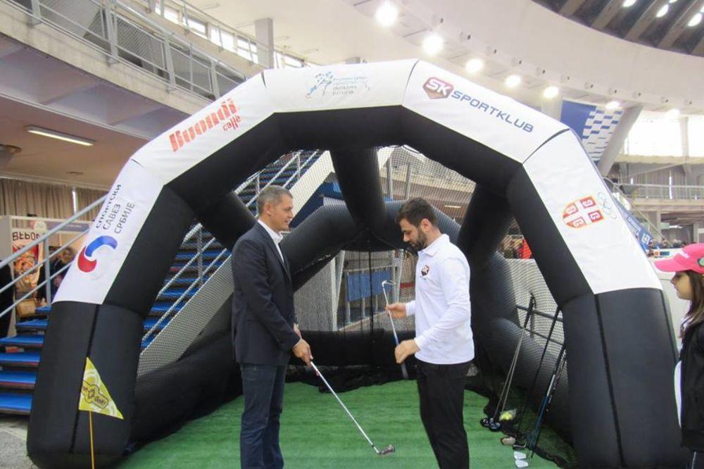 Golf, Sajam sporta, Foto: GAS