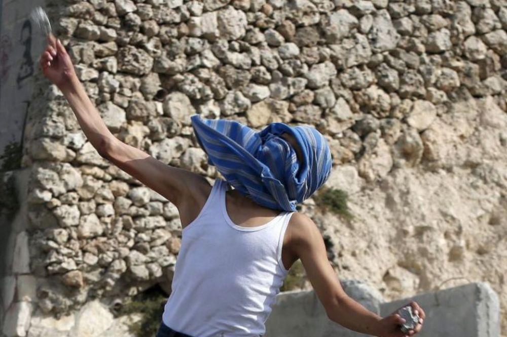 Foto: Reuters, Sukobi policije i palestinskih demonstranata u Jerusalimu