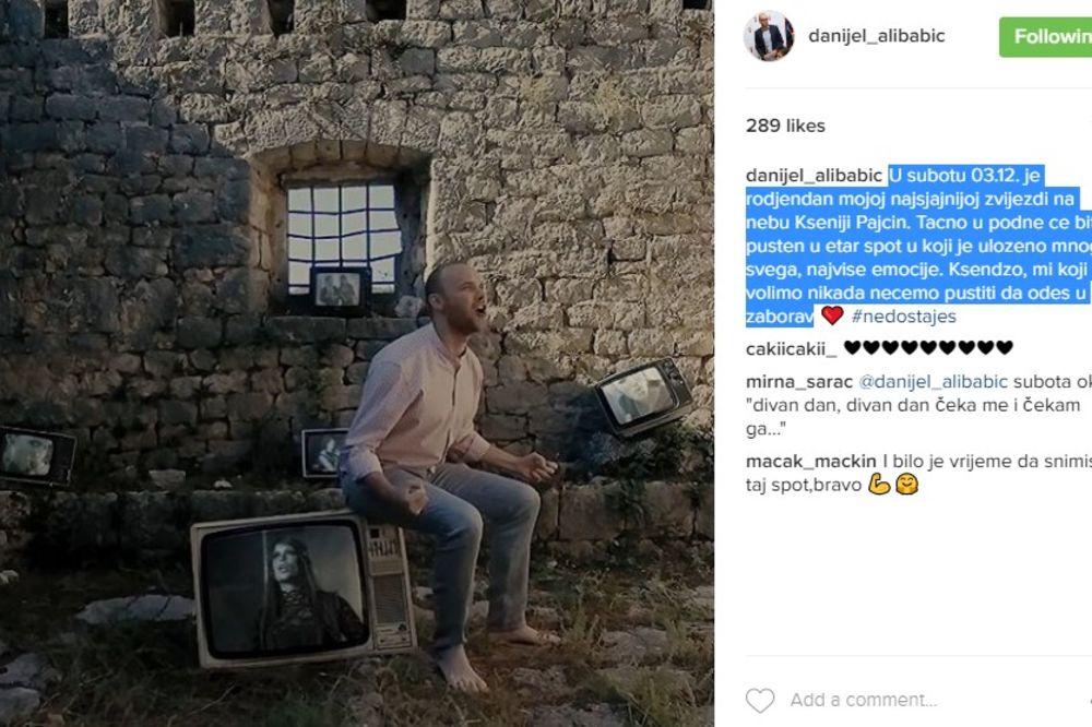 Foto Printscreen/Instagram