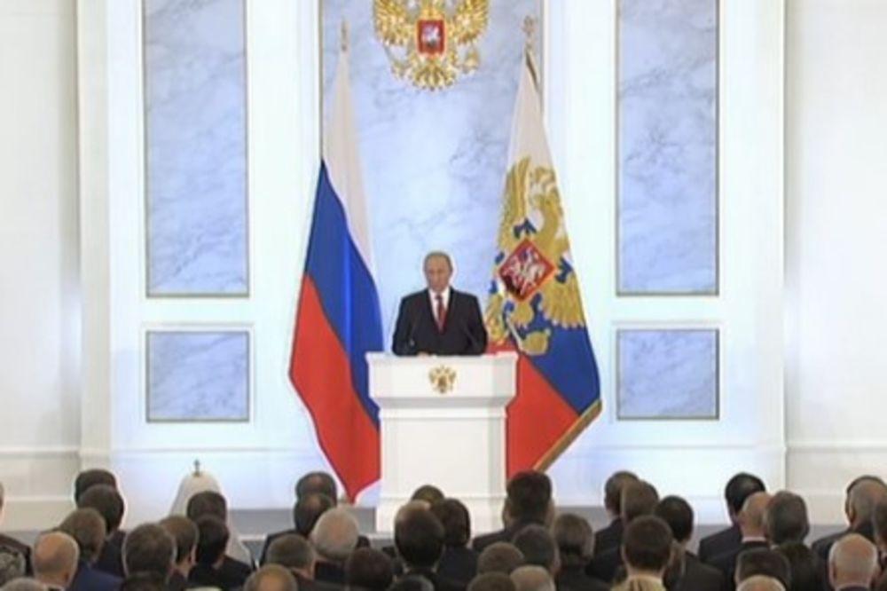 (VIDEO) PUTIN PONOSAN NA RUSIJU: Želimo prijatelje, ali ne damo na sebe!