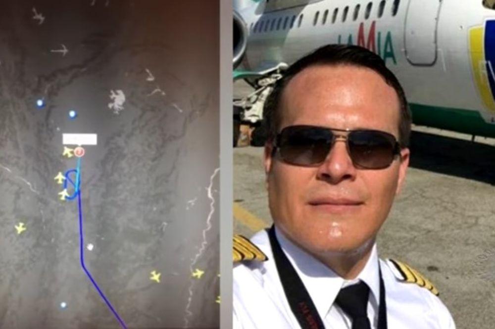 (VIDEO) GOSPOĐO, DAJTE KOORDINATE! Pilot očajnički tražio da sleti, operaterka ga ODLOŽILA!