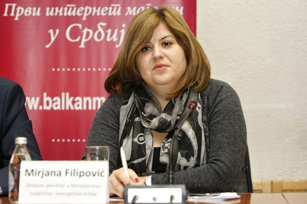 DRŽAVNA SEKRETARKA FILIPOVIĆ O EPS: Nemamo informacija da li je bilo špekulacija s cenom struje