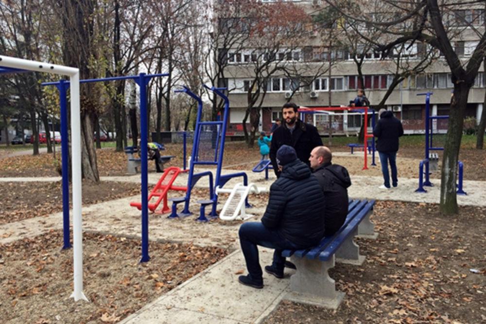 NOVA TERETANA OTVORENA U NOVOM BEOGRADU Šapić: Ponosan sam jer ih ima najviše u našoj opštini