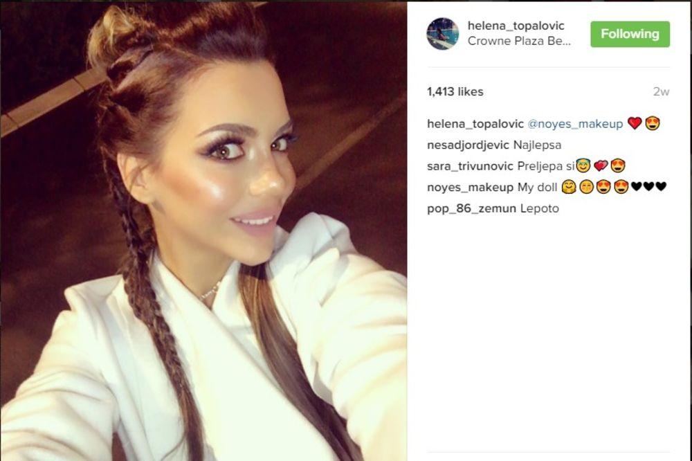 (FOTO) HELENA UZBUDILA INSTAGRAM: Topalkova ćerka fotkama iz saune zapalila mušku maštu