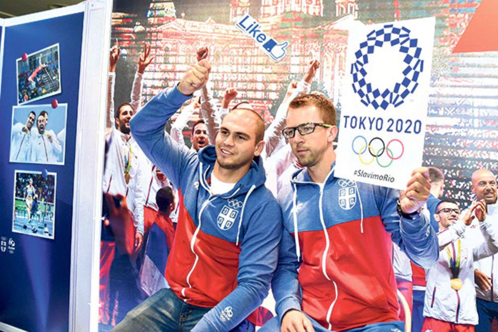 Lajk za Tokio... Veslači Marko Tomićević i Milenko Zorić