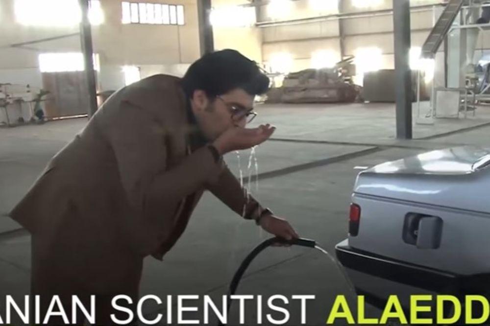 (VIDEO) PA OVO JE NEVEROVATNO! Ovaj čovek je izmislio AUTOMOBIL NA VODU i provozao ga pred kamerama!