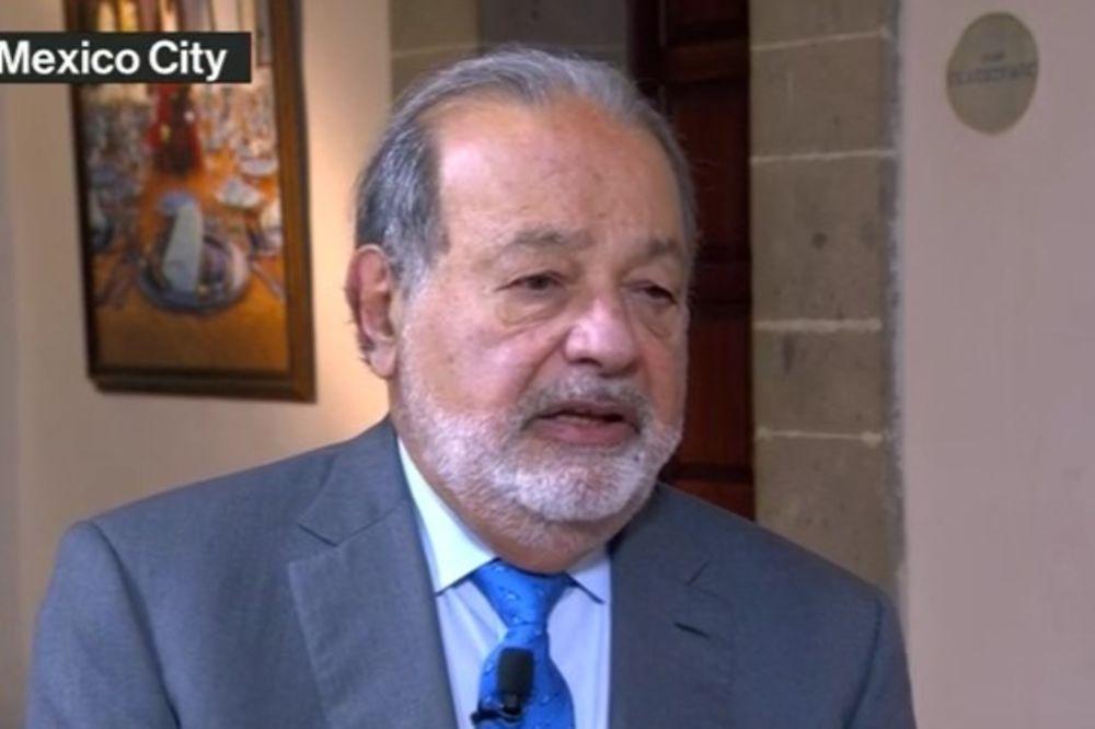 (VIDEO) KARLOS SLIM RUŠIO TRAMPA, SAD MU SE UVLAČI: Donald je dobra vest za Meksiko!