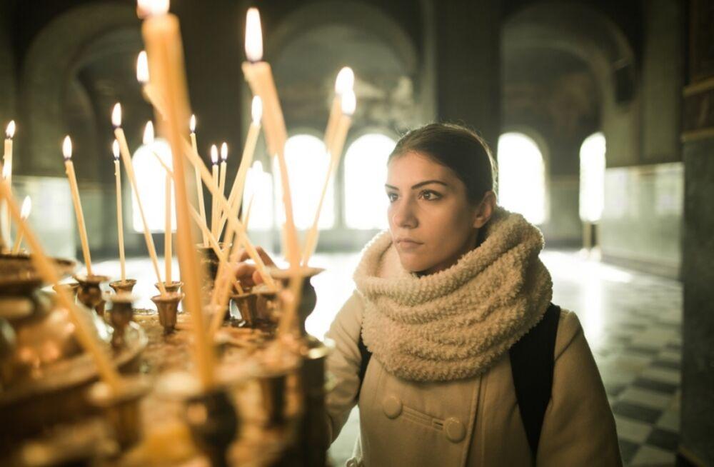 Crkva, Molitva, Sveća, Sveće