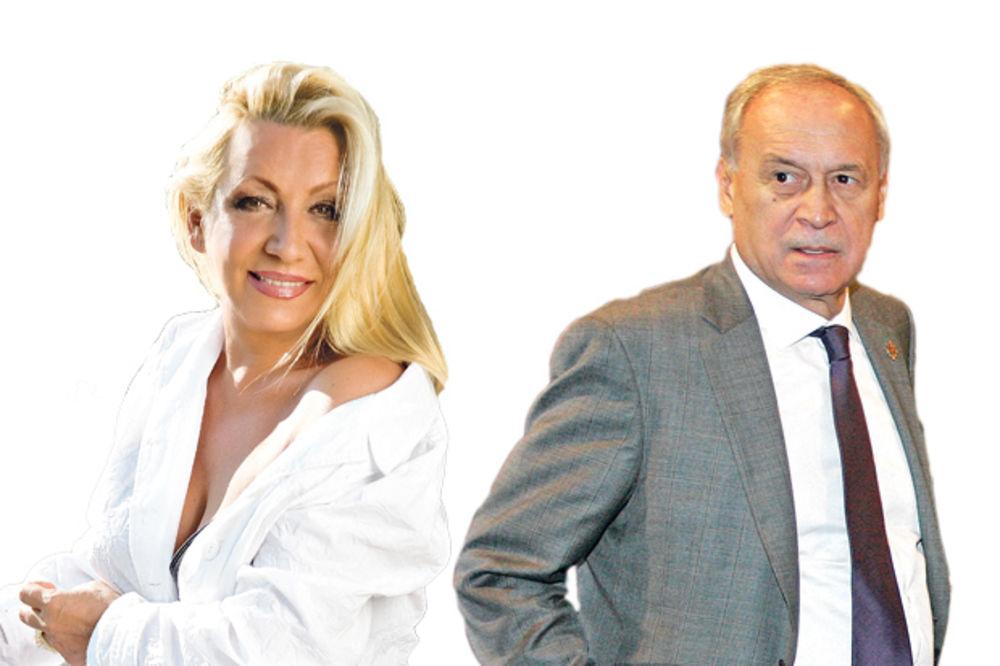 Ljubav fatalna... Vesna Zmijanac i Milorad Vučelić ,Vesna Zmijanac , Milorad Vučelić