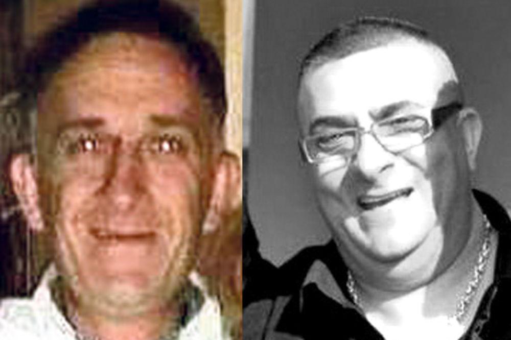 Žrtve... Dušan Jovanović teško ranjen (levo) i ubijeni Dejan Dejančić