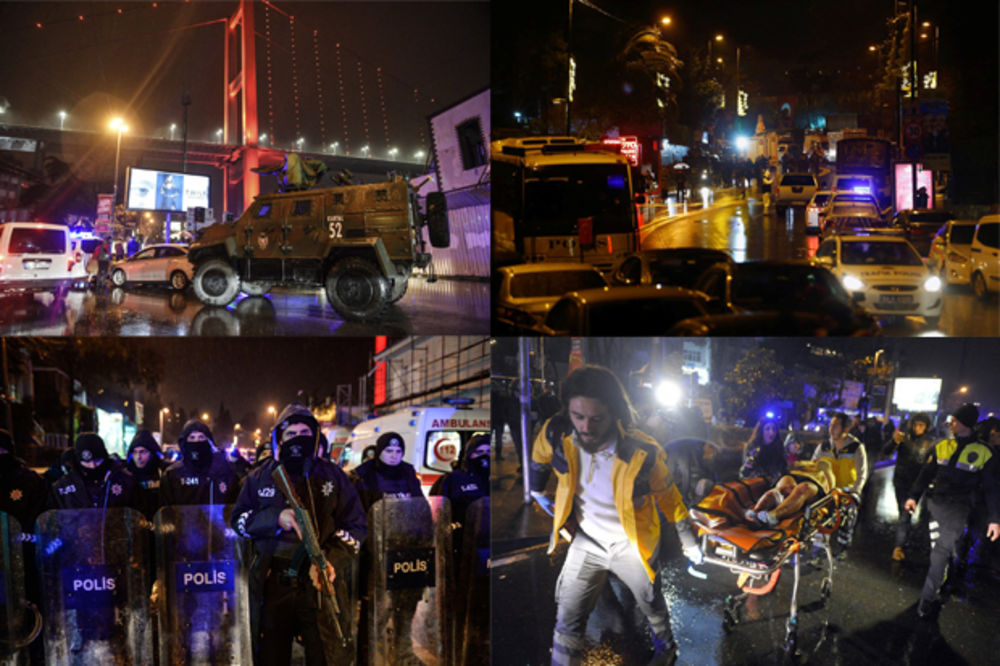 Slike užasa iz Istanbula (Foto: Rojters)