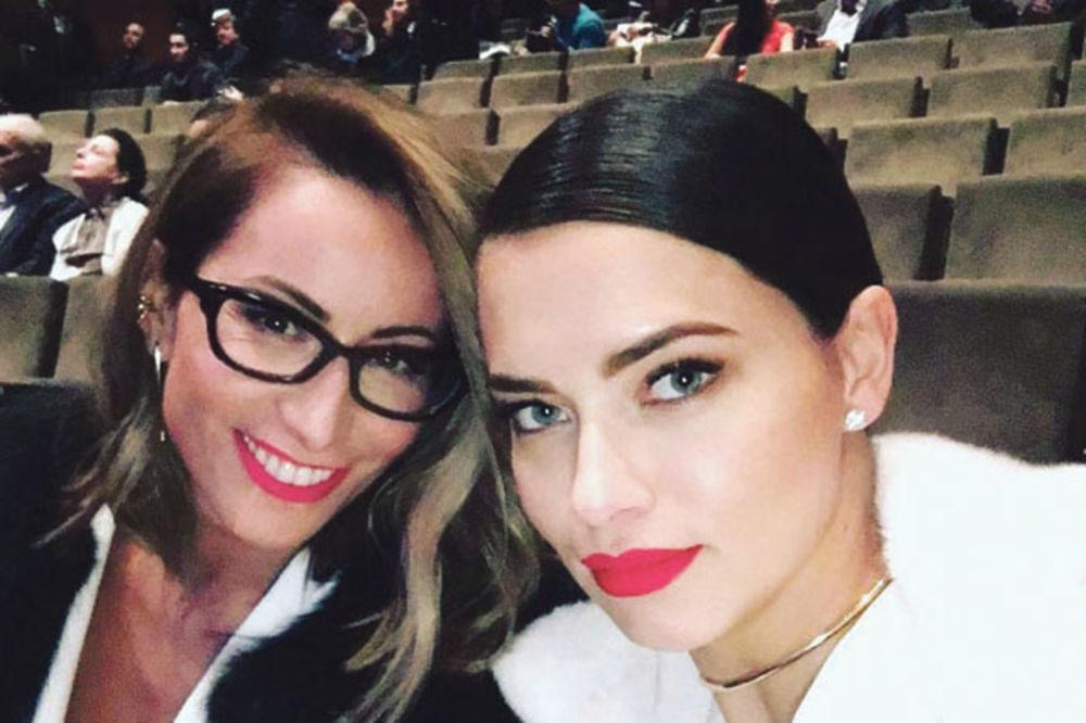 Zaova i snajka... Tamara Jarić i Adrijana Lima