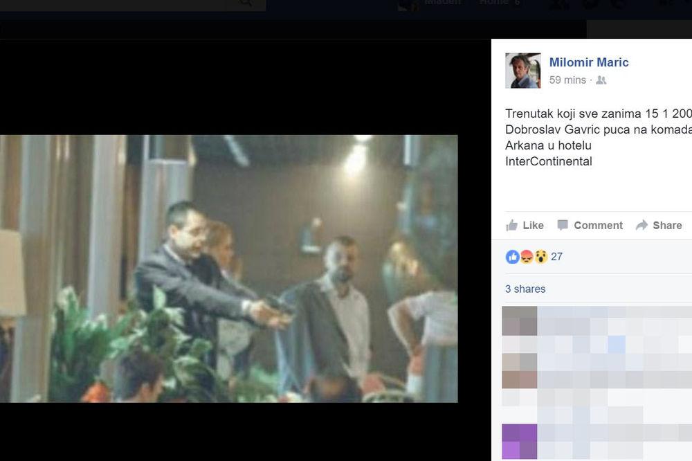 Ovo je fotografija koja je objavljena na lažnom profilu Milomira Marića