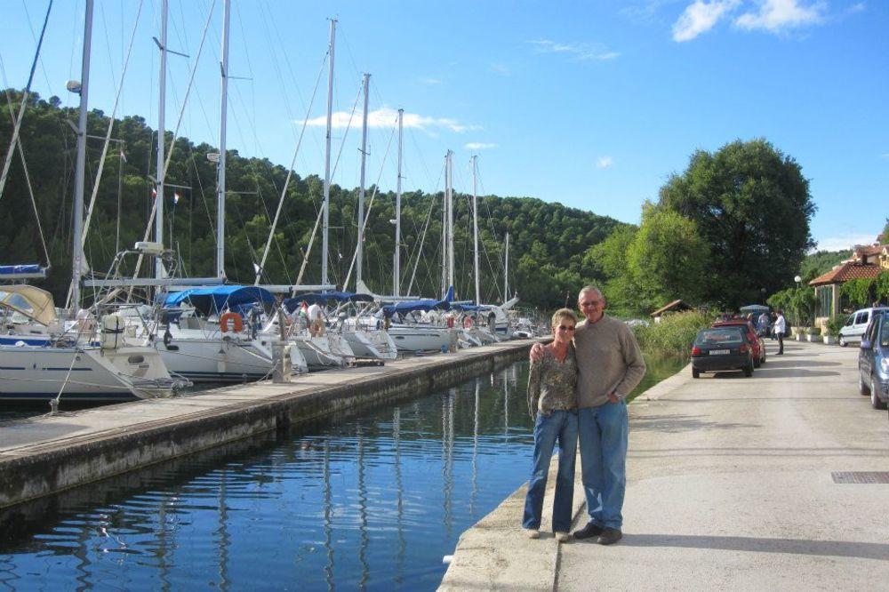 Pitersovi su se zaljubili u Hrvatsku tokom letovanja (Foto: Facebook)