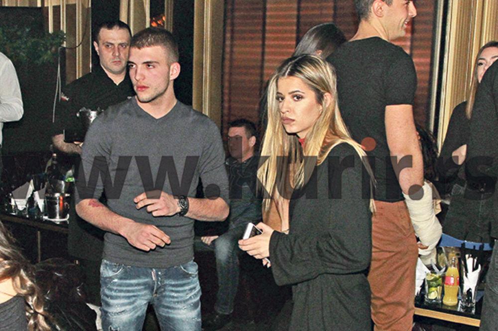 Veljko Ražnatović, Ana Cakić, foto Damir Dervišagić