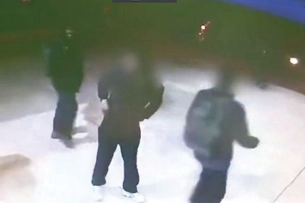 Dokaz... Otmičari snimljeni nekoliko minuta pred napad