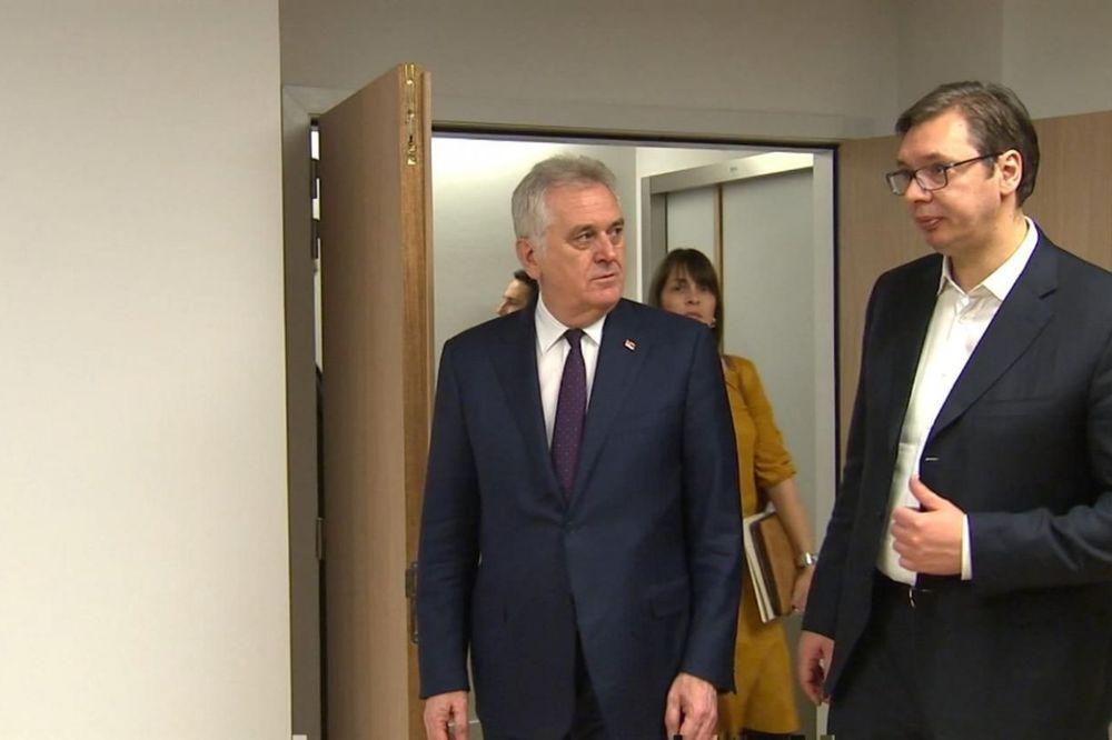 Dominiraju... Tomislav Nikolić i Aleksandar Vučić Foto: Fonet