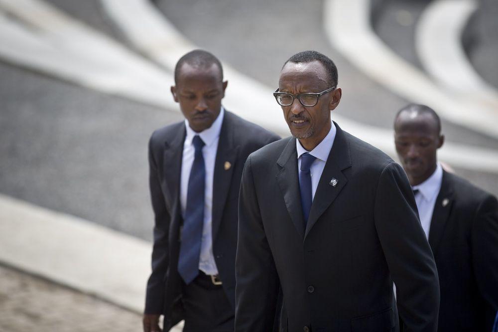 Pol Kagame sa pratnjom Foto: AP