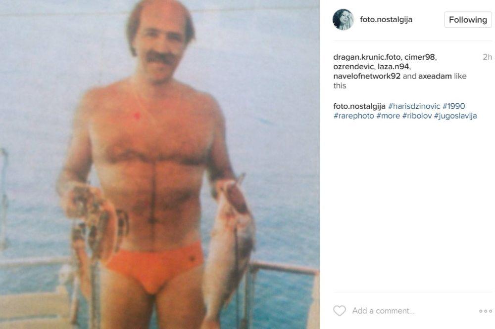 FOTO) OVAKVOG GA DO SAD NISTE VIDELI: Haris Džinović pre 27 godina pozirao  golišav i bez šešira!