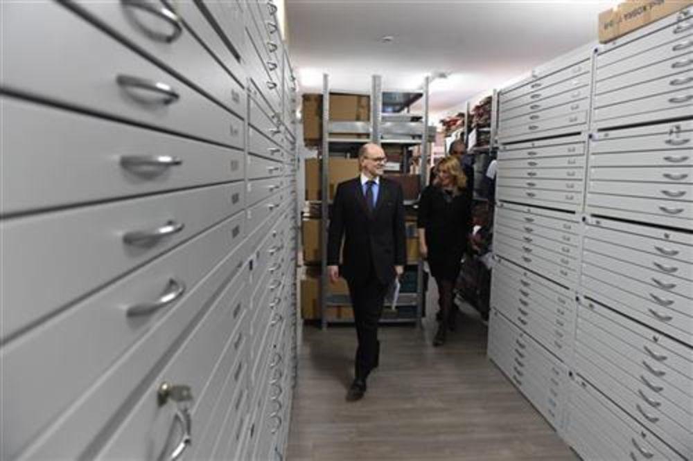 AMBASADOR NORVEŠKE POSETIO ARHIV RGZ: Bjornstad najavio novih milion evra podrške projektima razvoja