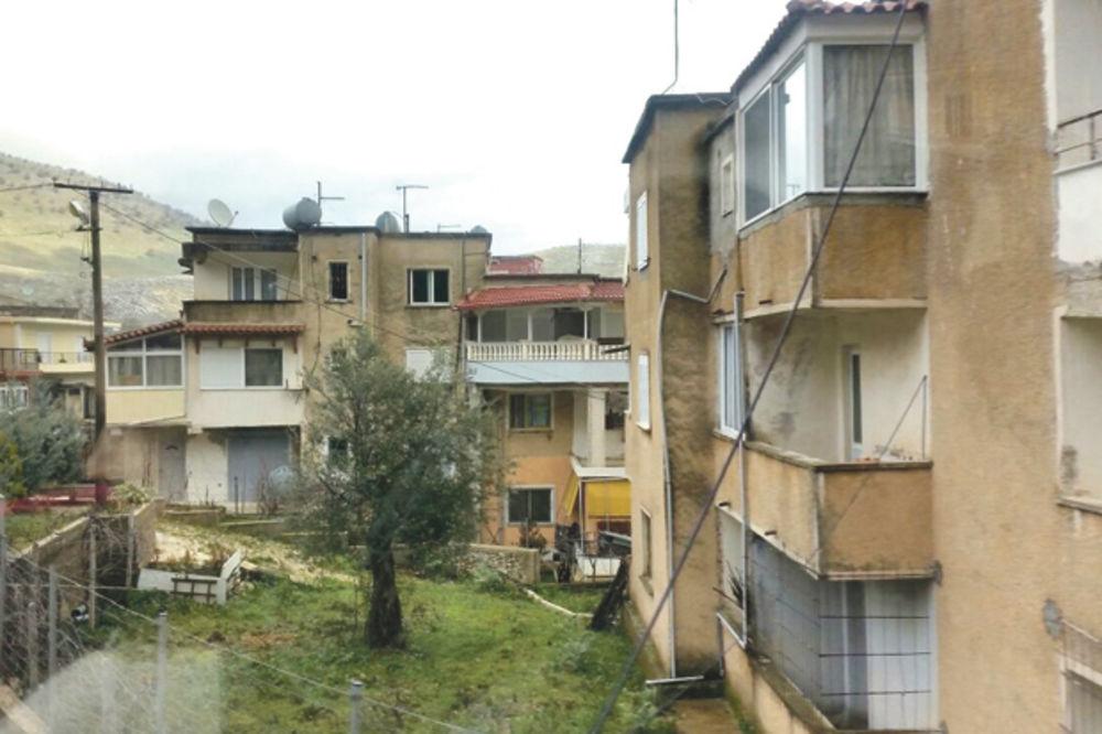 Periferija grada... Ruinirane zgrade