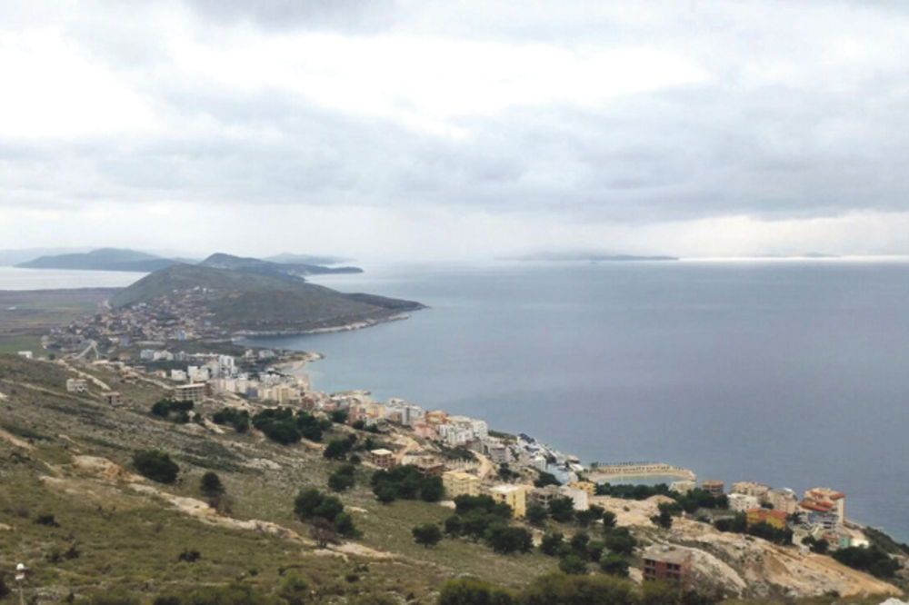 Pogled na Krf... Obala Jonskog mora