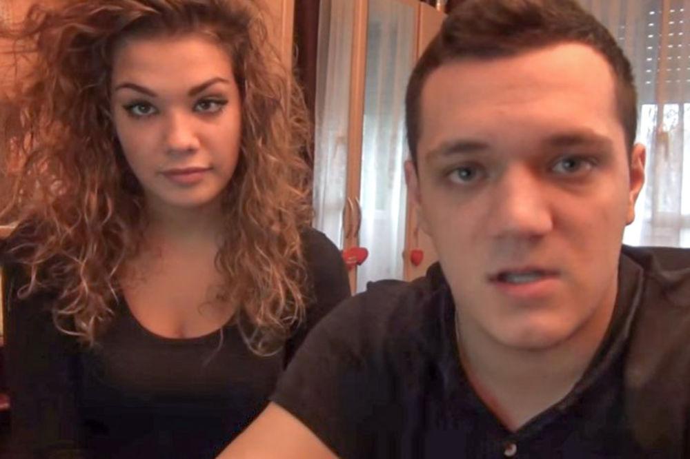 Gastoz i Marija... Foto: Printskrin YouTube