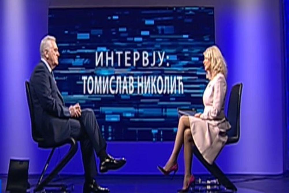 Tomislav Nikolić prscrn RTS