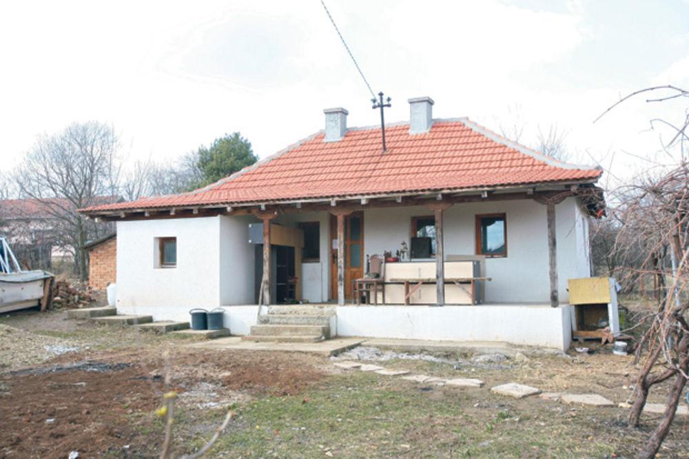 Zapečaćena... Kuća u kojoj je živela Marina sa suprugom